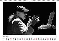Internationale Meister des Jazz in Schwarzweiß (Wandkalender 2019 DIN A3 quer) - Produktdetailbild 1