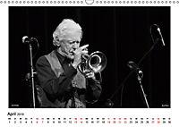 Internationale Meister des Jazz in Schwarzweiss (Wandkalender 2019 DIN A3 quer) - Produktdetailbild 4