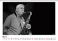 Internationale Meister des Jazz in Schwarzweiß (Wandkalender 2019 DIN A3 quer) - Produktdetailbild 5