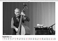 Internationale Meister des Jazz in Schwarzweiss (Wandkalender 2019 DIN A3 quer) - Produktdetailbild 9
