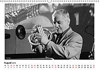 Internationale Meister des Jazz in Schwarzweiß (Wandkalender 2019 DIN A3 quer) - Produktdetailbild 8