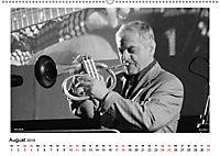 Internationale Meister des Jazz in Schwarzweiß (Wandkalender 2019 DIN A2 quer) - Produktdetailbild 8