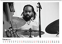 Internationale Meister des Jazz in Schwarzweiß (Wandkalender 2019 DIN A2 quer) - Produktdetailbild 2