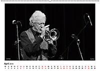 Internationale Meister des Jazz in Schwarzweiß (Wandkalender 2019 DIN A2 quer) - Produktdetailbild 4