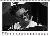 Internationale Meister des Jazz in Schwarzweiß (Wandkalender 2019 DIN A2 quer) - Produktdetailbild 6