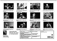 Internationale Meister des Jazz in Schwarzweiß (Wandkalender 2019 DIN A2 quer) - Produktdetailbild 13