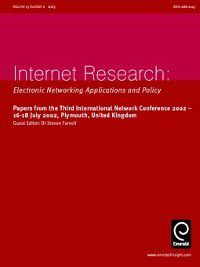 Internet Research: Internet Research, Volume 13, Issue 2