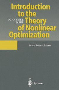 Introduction to the Theory of Nonlinear Optimization, Johannes Jahn