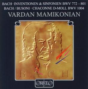 Inventionen U.Sinf.Bwv 772-801/Chaconne Bwv 1004, Vardan Mamikonian