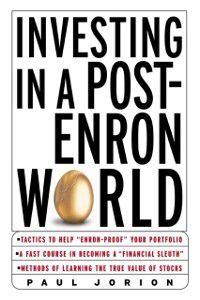 Investing in a Post-Enron World, Paul Jorion