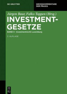 Investmentgesetze, Kommentar: Bd.3 Investmentgesetz (InvG)