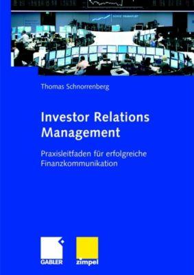 Investor Relations Management, Thomas Schnorrenberg