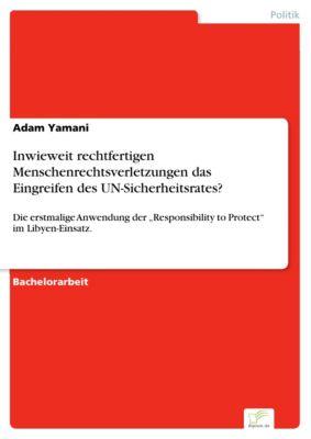 Inwieweit rechtfertigen Menschenrechtsverletzungen das Eingreifen des UN-Sicherheitsrates?, Adam Yamani
