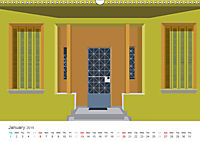 Ionian Doorways and Patterns (Wall Calendar 2019 DIN A3 Landscape) - Produktdetailbild 1