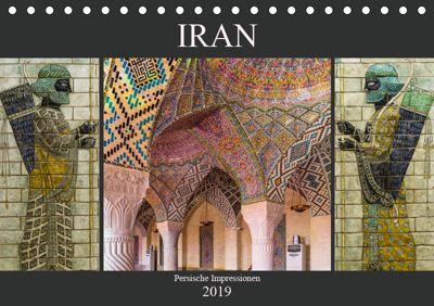 Iran - Persische Impressionen (Tischkalender 2019 DIN A5 quer), Enrico Caccia