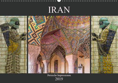 Iran - Persische Impressionen (Wandkalender 2019 DIN A2 quer), Enrico Caccia