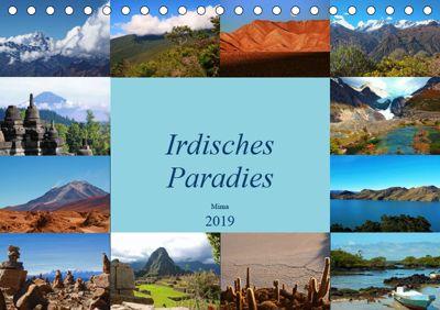 Irdisches Paradies (Tischkalender 2019 DIN A5 quer), Miriam Heer