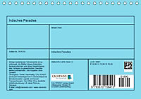 Irdisches Paradies (Tischkalender 2019 DIN A5 quer) - Produktdetailbild 13