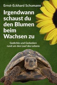 Irgendwann schaust du den Blumen beim Wachsen zu - Ernst-Eckhard Schumann |