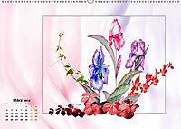 Irisblüten Zeichnungen (Wandkalender 2019 DIN A2 quer) - Produktdetailbild 3