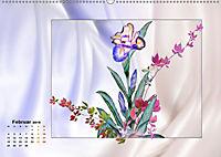 Irisblüten Zeichnungen (Wandkalender 2019 DIN A2 quer) - Produktdetailbild 2