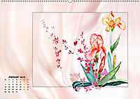 Irisblüten Zeichnungen (Wandkalender 2019 DIN A2 quer) - Produktdetailbild 1