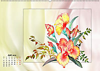 Irisblüten Zeichnungen (Wandkalender 2019 DIN A2 quer) - Produktdetailbild 7