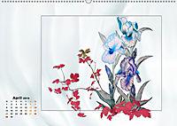 Irisblüten Zeichnungen (Wandkalender 2019 DIN A2 quer) - Produktdetailbild 4