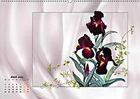 Irisblüten Zeichnungen (Wandkalender 2019 DIN A2 quer) - Produktdetailbild 6