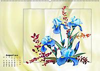 Irisblüten Zeichnungen (Wandkalender 2019 DIN A2 quer) - Produktdetailbild 8