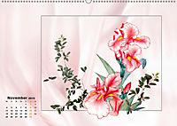 Irisblüten Zeichnungen (Wandkalender 2019 DIN A2 quer) - Produktdetailbild 11