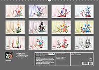 Irisblüten Zeichnungen (Wandkalender 2019 DIN A2 quer) - Produktdetailbild 13