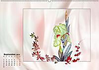 Irisblüten Zeichnungen (Wandkalender 2019 DIN A2 quer) - Produktdetailbild 9