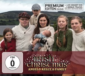 Irish Christmas (Premium Edition, inkl. Live-DVD), Angelo & Family Kelly