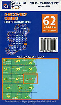 Irish Discovery Series 62. Carlow, Wexford, Wicklow 1 : 50 000 - Produktdetailbild 1