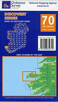 Irish Discovery Series 70. Kerry 1 : 50 000 - Produktdetailbild 1