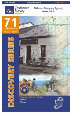 Irish Discovery Series 71. Kerry 1 : 50 000