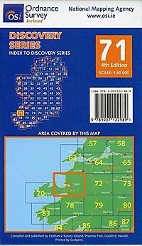 Irish Discovery Series 71. Kerry 1 : 50 000 - Produktdetailbild 1