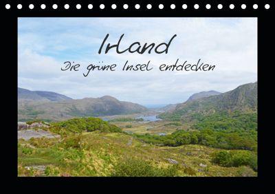 Irland - die grüne Insel entdecken (Tischkalender 2019 DIN A5 quer), Sascha Stoll