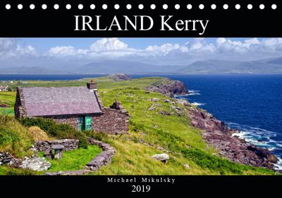 IRLAND Kerry (Tischkalender 2019 DIN A5 quer), Michael Mikulsky
