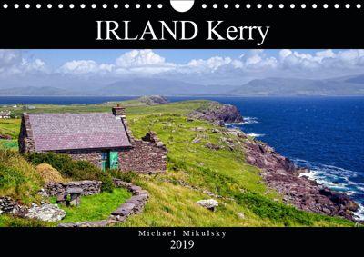 IRLAND Kerry (Wandkalender 2019 DIN A4 quer), Michael Mikulsky