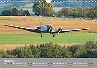Iron birds from vintage era (Wall Calendar 2019 DIN A4 Landscape) - Produktdetailbild 3