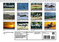 Iron birds from vintage era (Wall Calendar 2019 DIN A4 Landscape) - Produktdetailbild 13