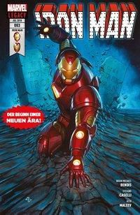 Iron Man (2. Serie) - Die Suche nach Tony Stark, Stefano Caselli, Brian Michael Bendis