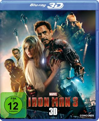 Iron Man 3 - 3D-Version, ROBERT DOWNEY JR., Gwyneth Paltrow