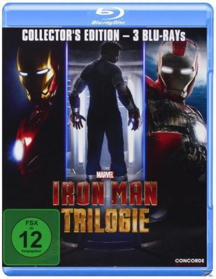 Iron Man Trilogie Collector's Edition, ROBERT DOWNEY JR., Gwyneth Paltrow