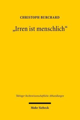 Irren ist menschlich, Christoph Burchard