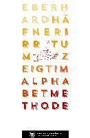 Irrtum zeigt im Alphabet Methode - Eberhard Häfner |