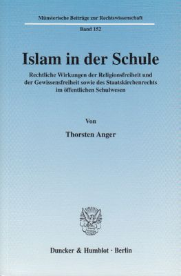 Islam in der Schule, Thorsten Anger