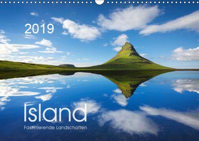 ISLAND 2019 - Faszinierende Landschaften (Wandkalender 2019 DIN A3 quer), Lucyna Koch